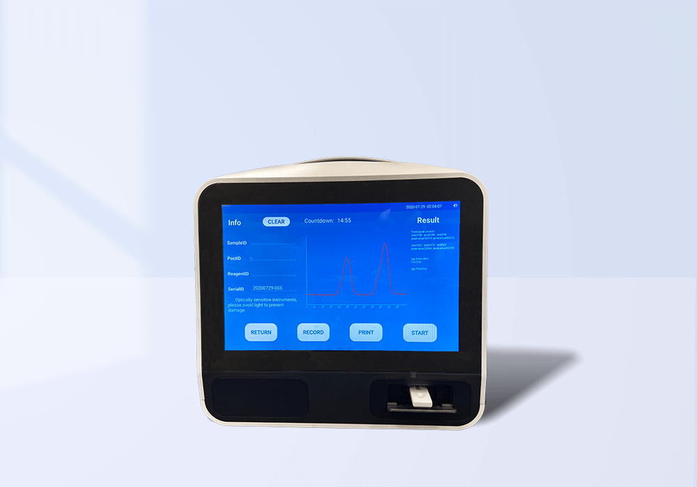 tracee covid-19 antigen and antibody reader for rapid results in under 15 minutes
