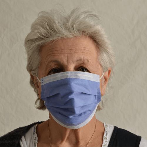 covid-19 saliva pcr nasal pcr testing woman