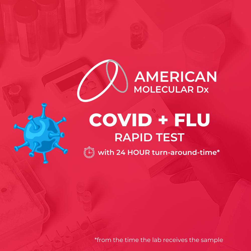 amdx covid-19 plus flu test
